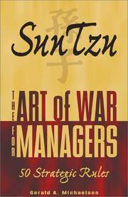 image of Sun Tzu: The Art of War for Managers; 50 Strategic Rules
