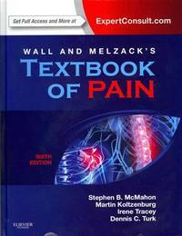 WALL AND MELZACKS TEXTBOOK OF PAIN 6ED (HB 2013)