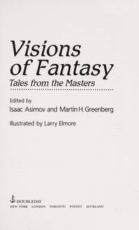 image of Visions of Fantasy: Tales from the Masters