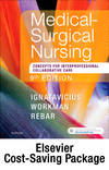 image of Medical-Surgical Nursing - Two-Volume Text and Study Guide Package: Patient-Centered Collaborative Care