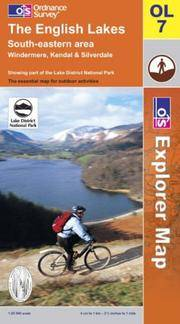 image of The English Lakes: South Eastern Area (Explorer Maps)