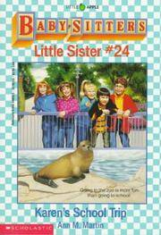 image of Karen's School Trip (Baby-Sitters Little Sister)