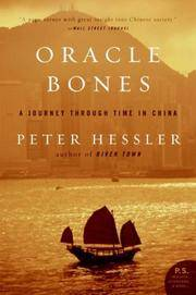 Oracle Bones: A Journey Through Time in China by  Peter Hessler - Paperback - from Mediaoutletdeal1 and Biblio.com