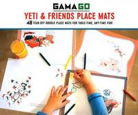 GAMAGO Yeti & Friends Place Mats