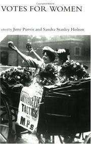 Votes For Women (Women's and Gender History)