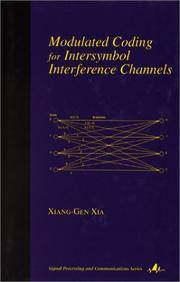 Modulated Coding For Intersymbol Interference Channels (Signal Processing And Communications)