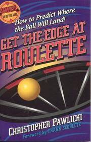 image of Get the Edge at Roulette (Scoblete Get-The-Edge)