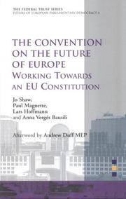 image of Convention on the Future of Europe: Working Towards an EU Constitution