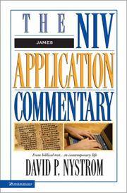 James : The NIV Application Commentary from Biblical Test...to Contemporary Life (NIV Application Commentary)