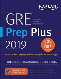 GRE Prep Plus 2019 Practice Tests + Proven Strategies + Online + Video +  Mobile