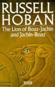 The Lion Of Boaz Jachin and Jachin Boaz