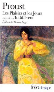 image of Plaisirs Et Les Jours (Folio (Domaine Public)) (French Edition)