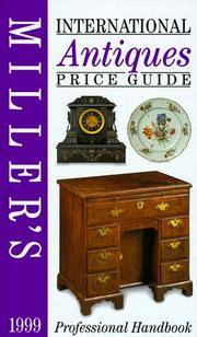 Miller's: International Antiques: Price Guide 1999 (Vol 20) (volume XX)