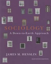 image of Sociology: Down-to-Earth Approach, Paperback version (11th Edition)