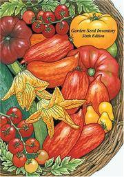 Garden Seed Inventory 6th Edition