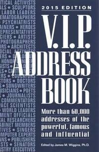 V.I.P. Address Book 2015