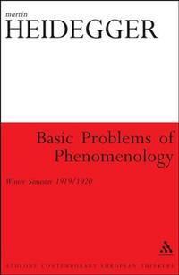 image of Basic Problems of Phenomenology (Athlone Contemporary European Thinkers)