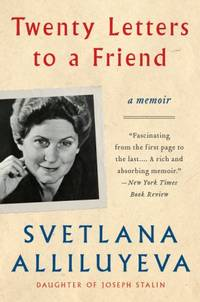 image of Twenty Letters to a Friend: A Memoir