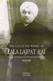 The Collected Works of Lala Lajpat Rai, Volume 7