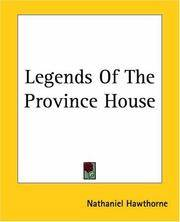 image of Legends Of The Province House