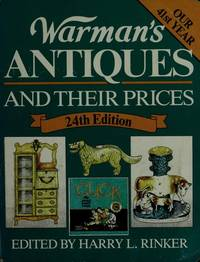 Warman's Antiques and Their Prices  24th Edition