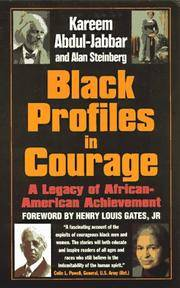 image of Black Profiles in Courage : A Legacy of African American Achievement