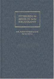 F.Scott Fitzgerald a Descriptive Bibliography