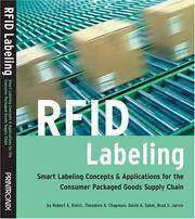 RFID Labeling: Smart Labeling Concepts & Applications for the Consumer Packaged Goods Supply...