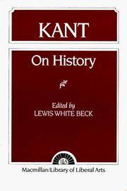 Kant: On History