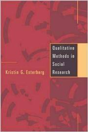 Qualitative Methods in Social Research