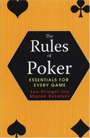 The Rules of Poker Essentials for Every Game