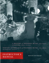 instructor's manual to a History of Western Music 8th Edition