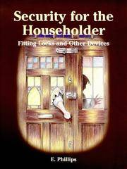 Security for the Householder: Fitting Locks and Other Devices