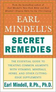 Earl Mindell's Secret Remedies