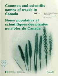 Common and Scientific Names of Weeds in Canada