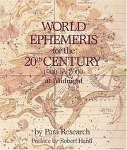 WORLD EPHEMERIS FOR THE 2OTH CENTURY (midnight)