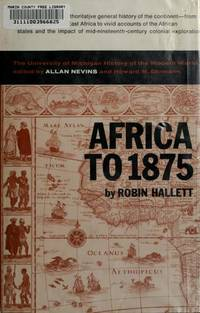 Africa to Eighteen Seventy-Five : A Modern History