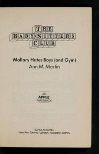 image of Mallory Hates Boys and Gym (BABY-SITTERS CLUB, 59)