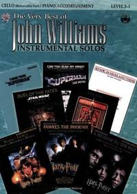 The Very Best of John Williams for Strings: Cello (with Piano Acc.), Book & CD