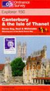 image of Canterbury and the Isle of Thanet (Explorer Maps)