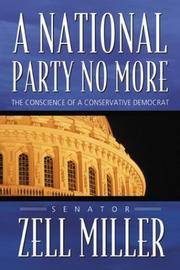 A National Party No More. The Conscience of a Conservative Democrat