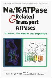 Na/K-ATPase and Related Transport ATPases