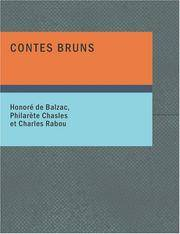 image of Contes bruns (Spanish Edition)