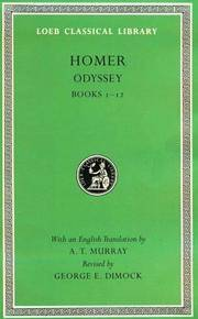 The Odyssey: Books 1-12 (The Loeb Classical Library, No 104) by  A. T. Murray (Translator)  George E. Dimock (Editor) - Hardcover - 2nd - 1995-01-01 - from Ergodebooks (SKU: DADAX0674995619)