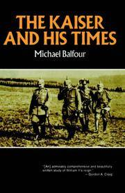 The Kaiser and His Times (Norton Library (Paperback))