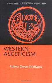image of Western Asceticism (Library of Christian Classics)