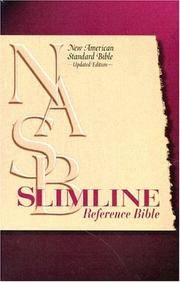 NASB Slimline Reference Bible