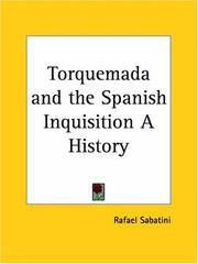 image of Torquemada and the Spanish Inquisition a History