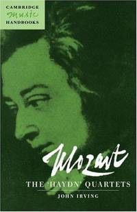 image of Mozart: The 'Haydn' Quartets (Cambridge Music Handbooks)