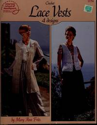 Crochet Lace Vests: 4 Designs (Leaflet 1174)